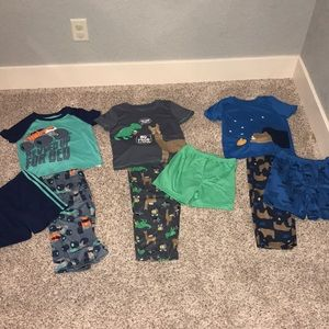 Just one you by Carters polyester pj lot! Size 5T